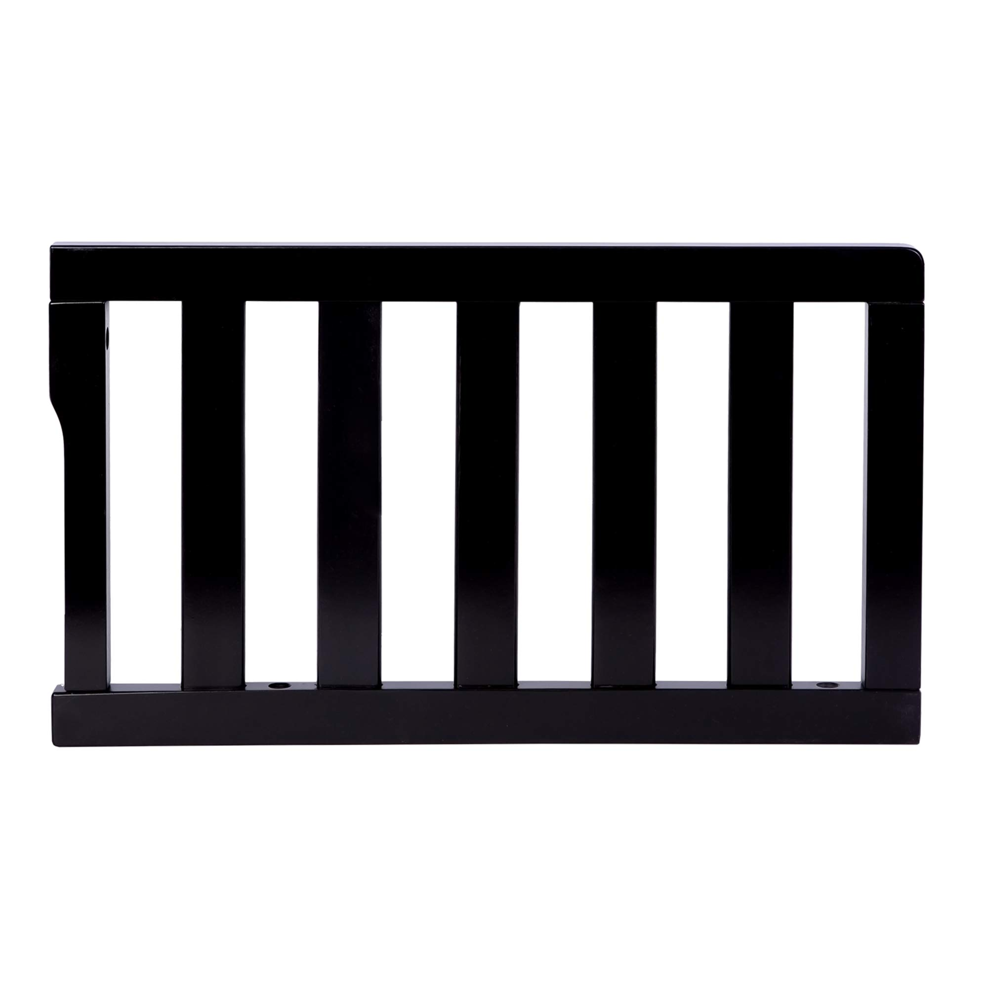 Dream On Me Universal Convertible Crib Toddler Guard Rail, Black