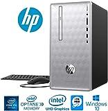 HP Pavilion 590 Intel Core i7+ 8700 6-Core 8GB+16GB Intel Optane 1TB HDD PC (Renewed)