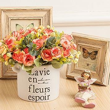 Kunstliche Blumen Dekoration Home Dekoration Ideen Eintopfen Gerat