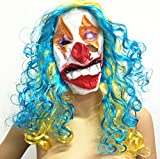 Party Decors Full Face Party Masquerade Costume Masks Latex funny face mask Clown Mask Payday Joker Horror Halloween Masks