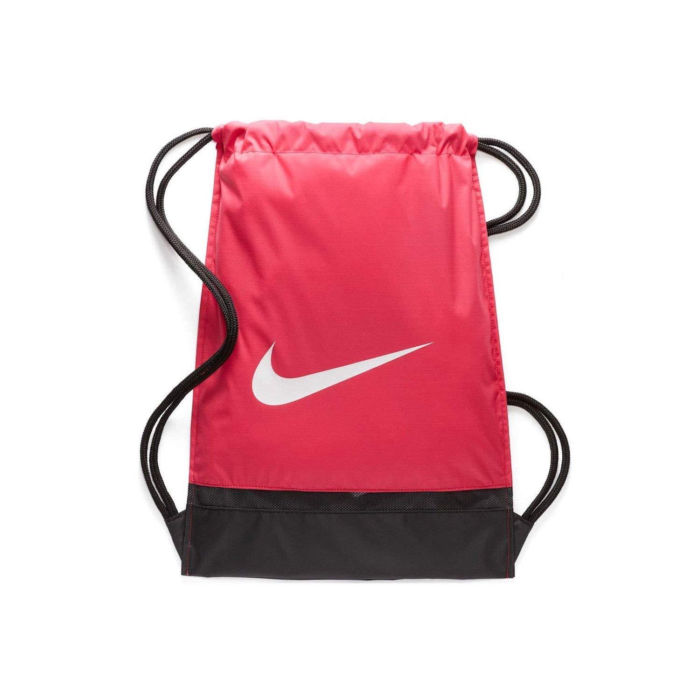 Nike Brazilia Gymsack BA5338 852 Max Orange/Black/White