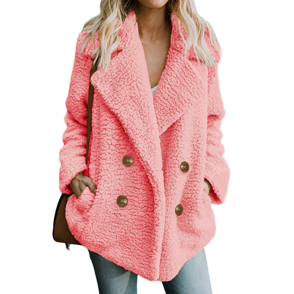 ALIKEEY Moda Informal De La Mujer Impresión De Invierno Abrigo De Abrigo Outercoat Coat Negra Cocina Limpieza estetica Hombre peluqueria: Amazon.es: Ropa y ...