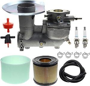 MOTOALL 392587 Carburetor 393957 Air Filter 271794 Pre Filter for Briggs&Stratton 391065 391074 391992 394745 Engine