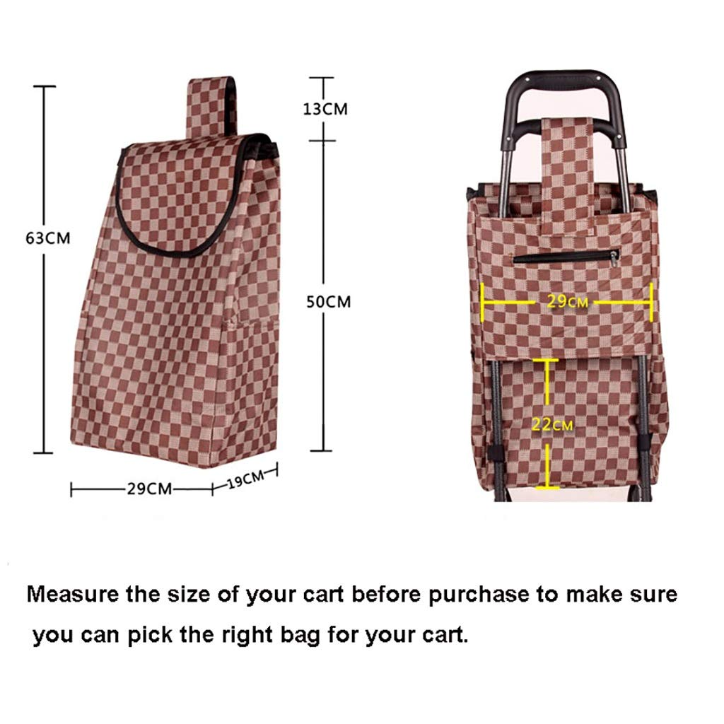 shopping trolley Shopping Cart Trolley Bag Replacement Spare Fitting 35L