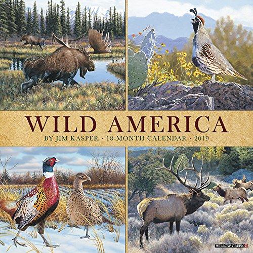 Wild America 2019 Wall Calendar ()