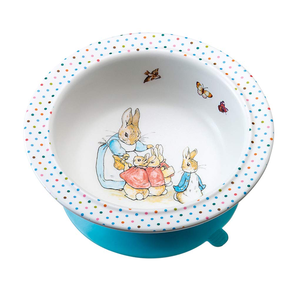 Peter Rabbit Feeding Bowl With Suction Pads