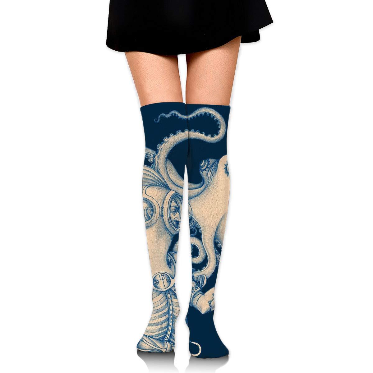 Amazon.com: Veadremd - Calcetines sexy con diseño de ...