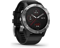 Garmin fenix 6, Premium Multisport GPS Watch, Heat and Altitude Adjusted V02 Max, Pulse Ox Sensors and Training Load Focus, S