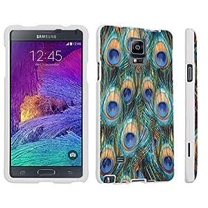 Iphone 5C Hard Case White - (Peacock) WANGJING JINDA