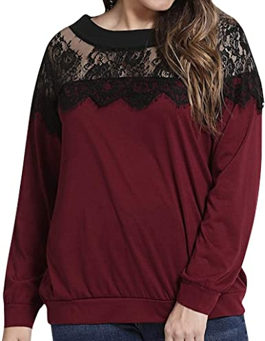 Femmes Chemise Pull Manches Longues Haut Strass Sweat Tops Chemisiers Col Roulé