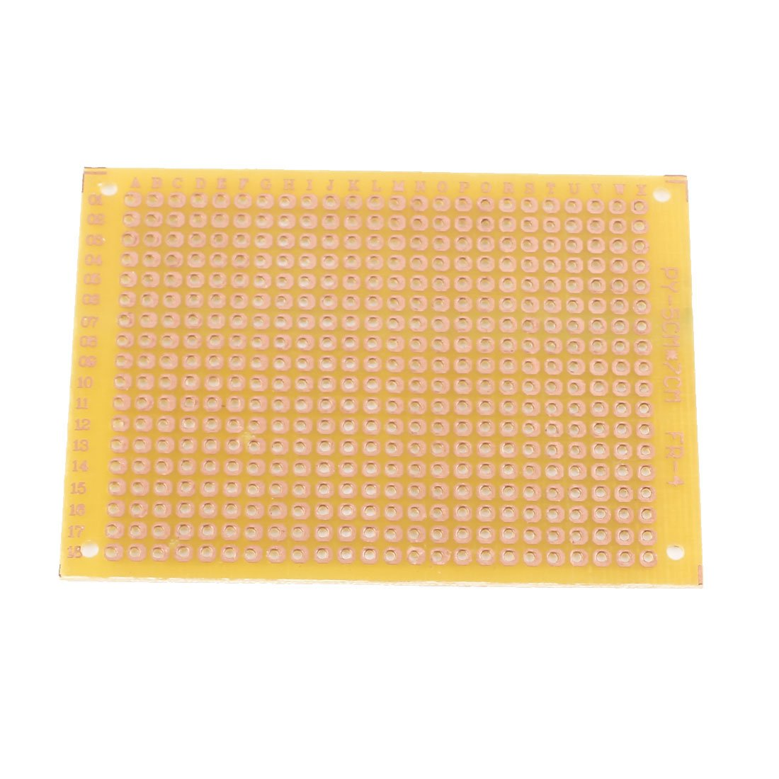 Uxcell 6pcs Prototyping Copper Pcb Stripboard Single Side Universal 10 Pcs 50mmx70mm Cover Circuit Board 5x7cm Industrial Scientific