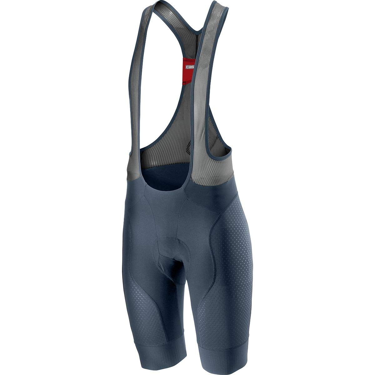 Castelli Men's Free Aero Race 4 Bibshort (Dark Steel Blue, Small)