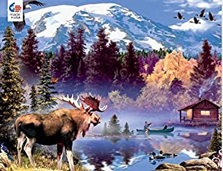 product image for Wild - Moose Cabin Puzzle - 1000 Pieces