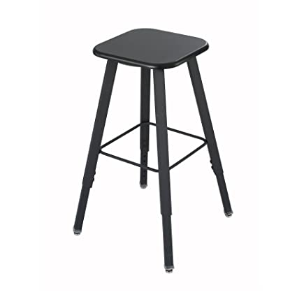 amazon com safco alphabetter stool black seat black frame
