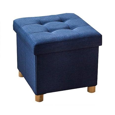 Stupendous Amazon Com Ottoman Storage Stool Foot Stool Folding Frankydiablos Diy Chair Ideas Frankydiabloscom