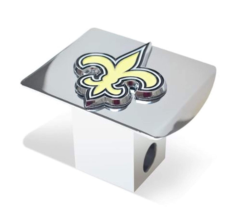 SLS FANMats Las Vegas Golden Knights Premium Heavy Duty Solid Metal Color Chrome Hitch Cover Bumper Trailer Hockey