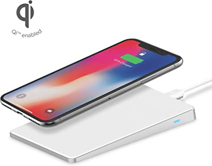 Yellow Lisin Qi Wireless Power Charger Charging Pad for iPhone 8//iPhone 8 Plus