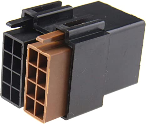 2pcs 8 Pin Mini Iso Autoradio Steckverbinder Musikadapter Radioadapter Lautsprecher Stecker Auto