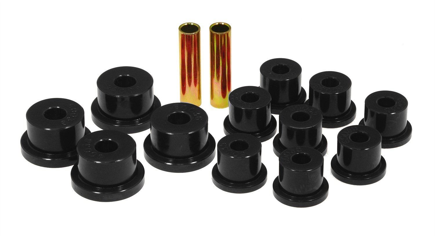 Prothane 17-1001-BL Black Spring Eye and O.E.M. Shackle Bushing Kit