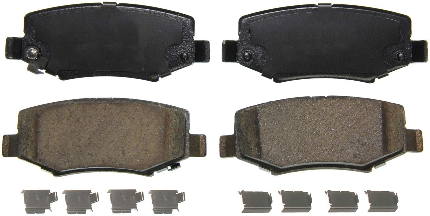 For Jeep Compass 2017-2020 Wagner ZD2081 QuickStop Ceramic Rear Disc Brake Pads