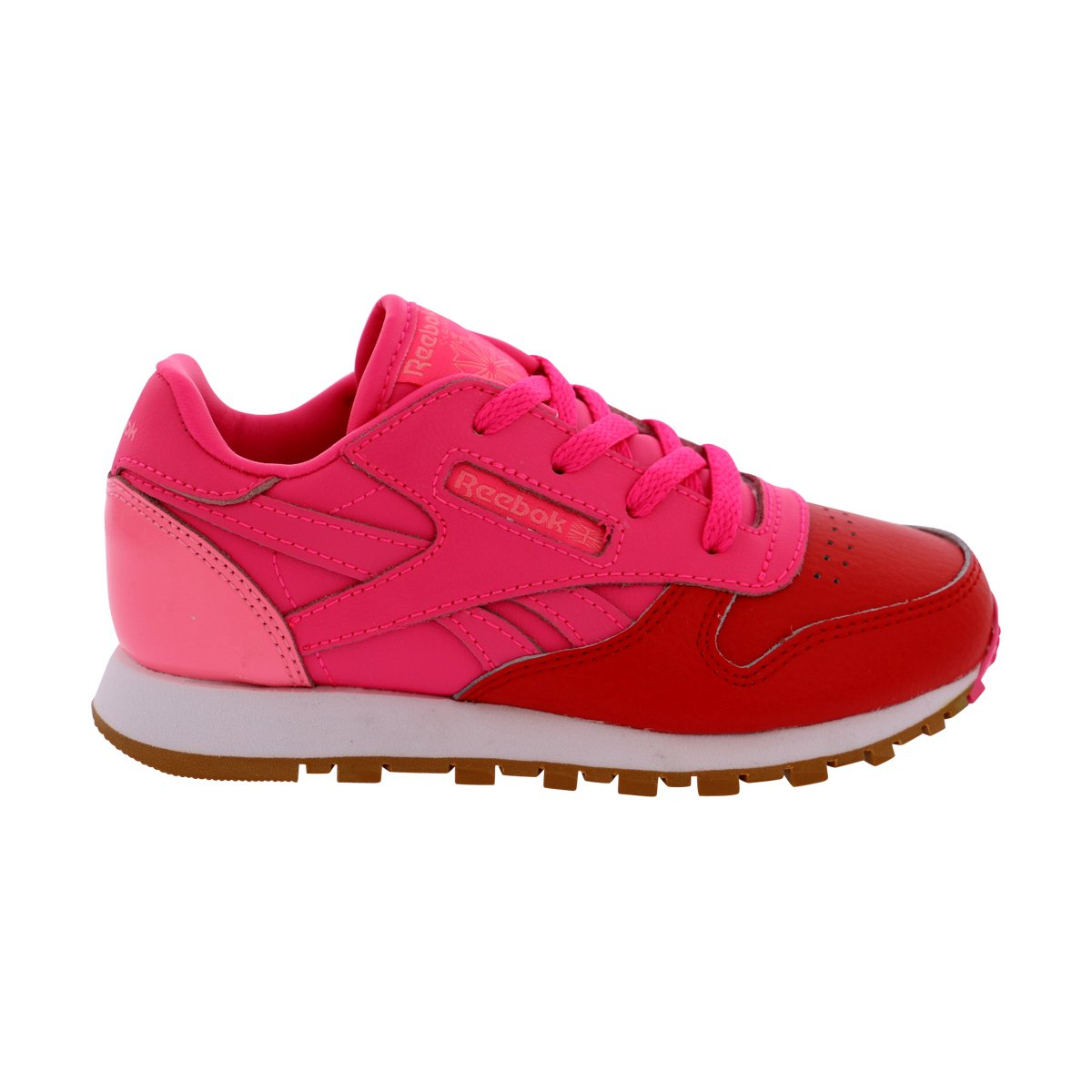 Reebok Classic Leather Shoe (Little Kid) CLASSIC LEATHER - K