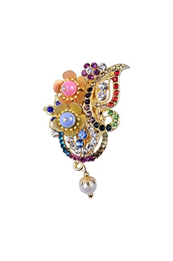 Buy Safety Brooches Pins/Saree Hijab Brooches Pins for Women & Girls