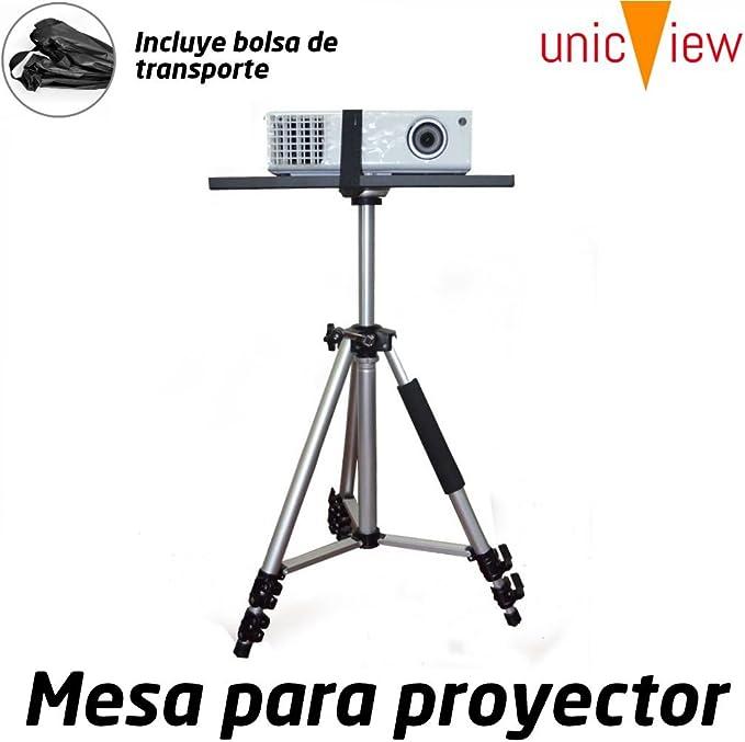 Mesa para proyector Plegable y portatil de Aluminio con Refuerzo ...