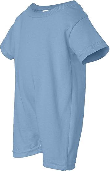 299fc416144 Amazon.com  Rabbit Skins 100% Cotton Infant Baby Fine Jersey T-Romper  Jersey Onesie  Clothing