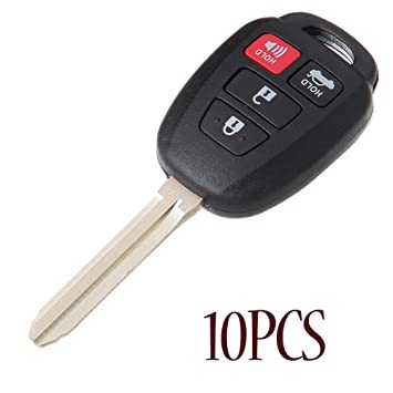 Scitoo Keyless Entry 10x Keyless Entry Remote Control Car Key Fob