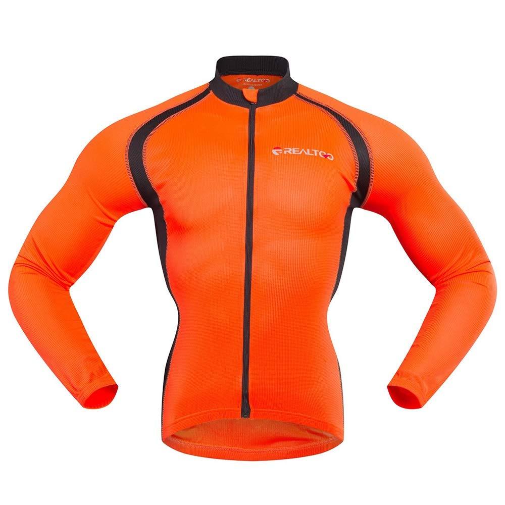 JTCT Combinaison de Cyclisme Nouveau Pantalon de Cyclisme Respirant /à Manches Longues Respirant Sports Fluorescent