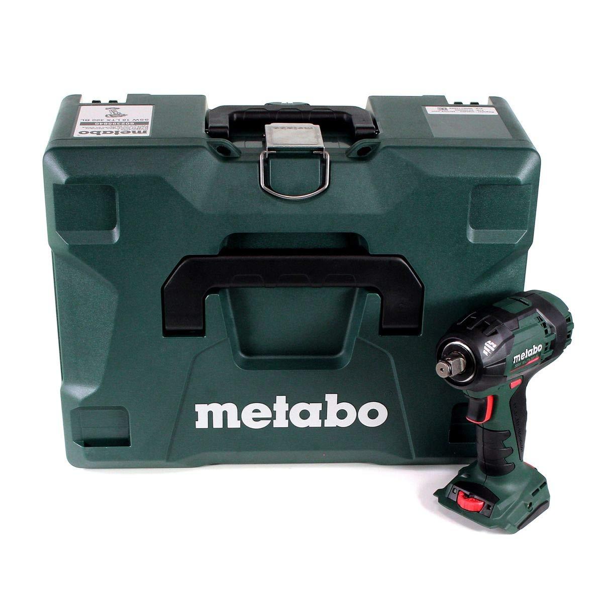 Metabo SSW 18 LTX 300 BL Akku-Schlagschrauber Li-Ion