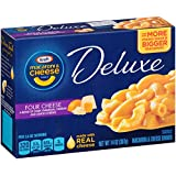 Kraft Macaroni & Cheese Deluxe Dinner, Four Cheese Sauce, 14 oz