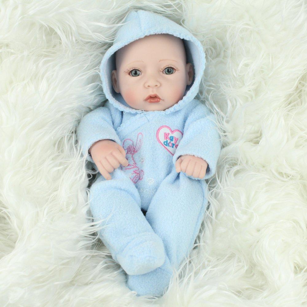 Kardora Reborn Baby Dolls 10 Inch Boy Full Body Vinyl Newborn Baby ...