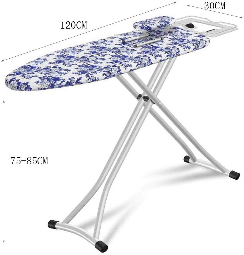 Luxe Planche à repasser, 120 * 30CM Renforcez réglable planche à repasser Magasin de vêtements de ménage couverture de glace d'eau Planche à repasser Pad (Color : A5) A1