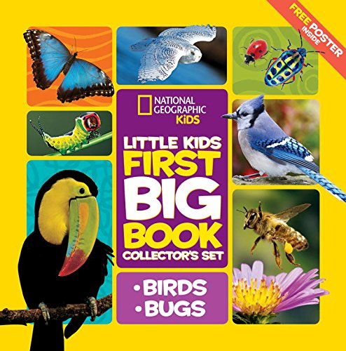 Price comparison product image Little Kids First Big Book Collector's Set: Birds and Bugs