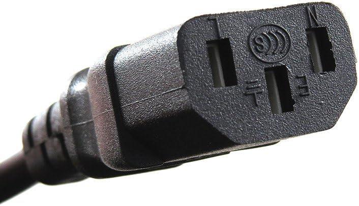 Optimum Orbis 3-Prong 6 Ft 6 Feet Ac Power Cord Cable Plug for Samsung TV LN32B360C5D LN32A650A1F