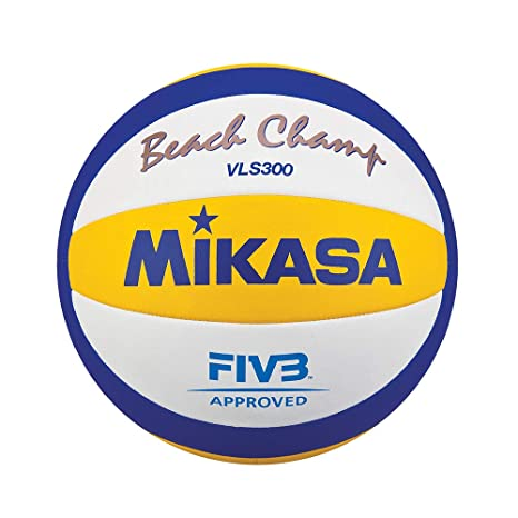 Mikasa VLS300 - Balón cosido, color amarillo / azul, tamaño 5 ...