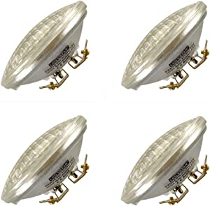 VSTAR LED PAR36 Bulb 6W 650-750lm(35W Halogen Equivalent),3000K Warm White,Water Resistant,Non-dimmable,4 Pack