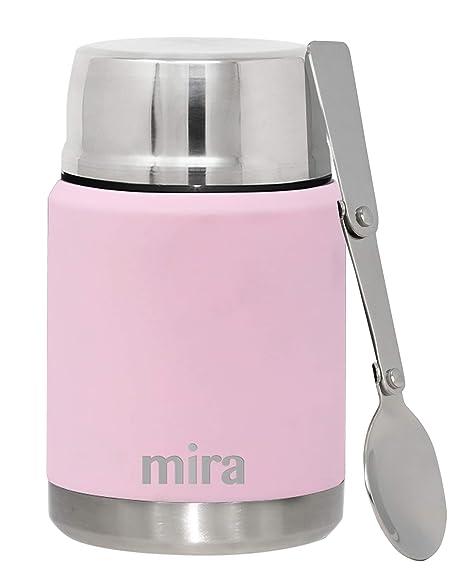 Amazon.com: MIRA - Tarro para comida, termo de acero ...