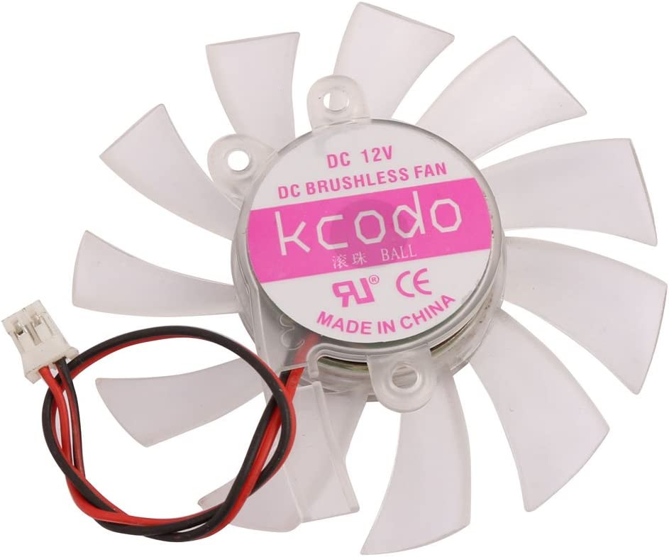 Aexit DC12V 11 Electrical equipment Blades Cooling Fan for Computer Graphics Card Cooler Radiator