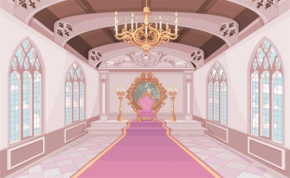 Ooozkken 6X9ft Palace Background Bright Theme Newborn Photography Studio Photography Wedding Background