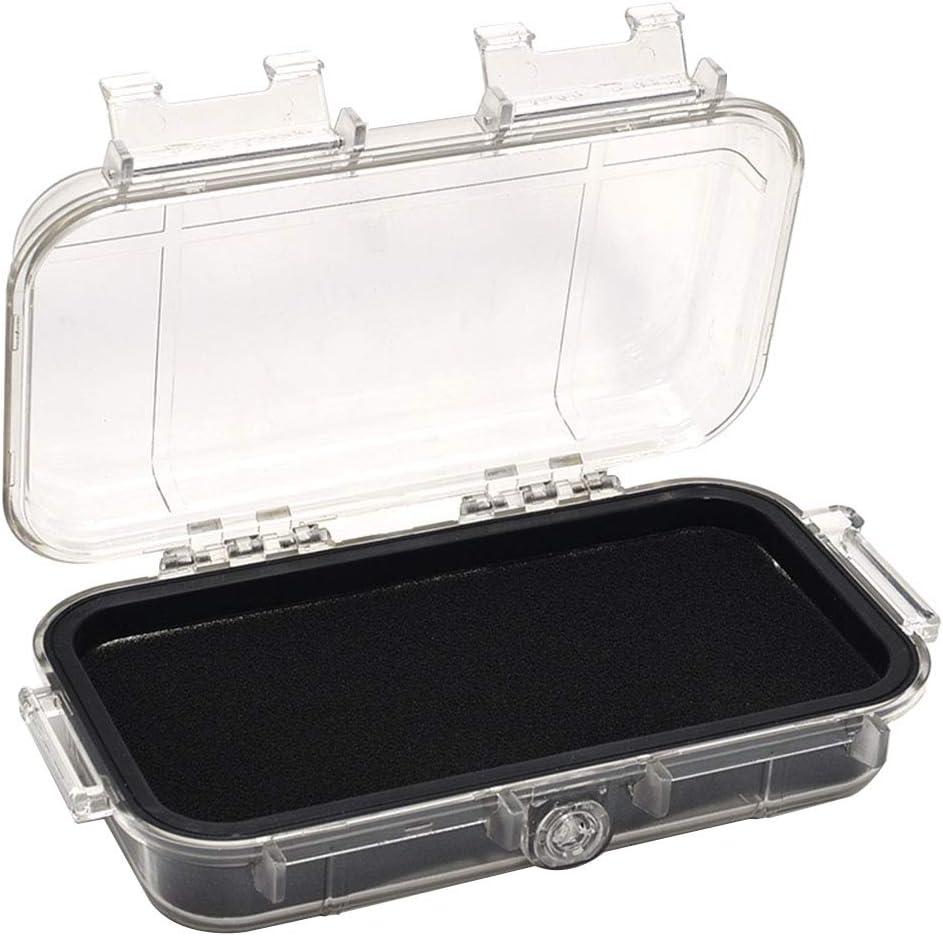 luftdicht M sto/ßfest elektronische Ger/äte wasserdicht Outdoor-Tragetasche Kunststoff Mehrzweck-Aufbewahrungskoffer