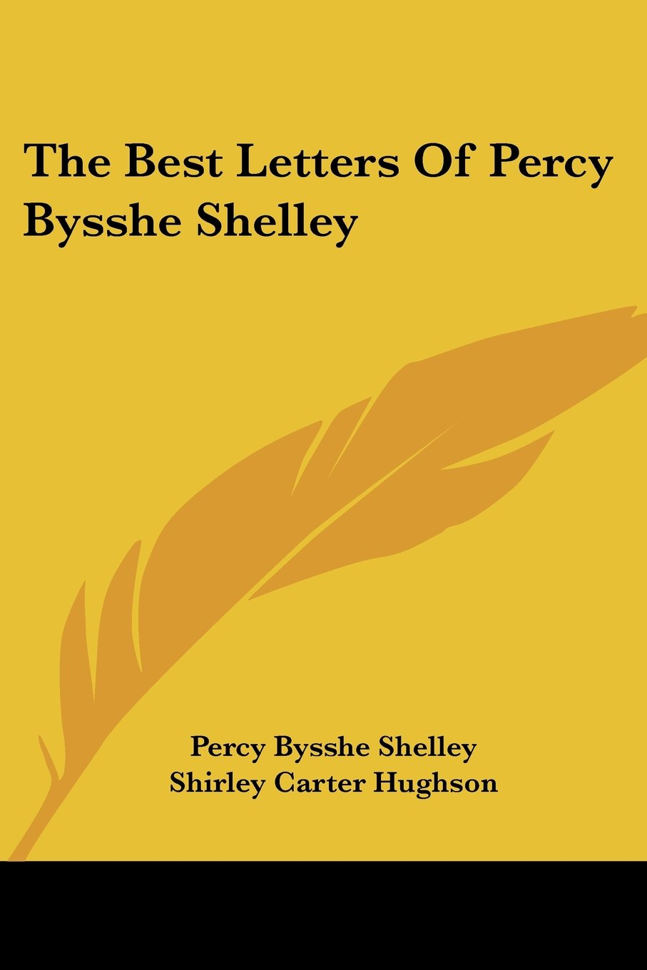 The Best Letters of Percy Bysshe Shelley ebook