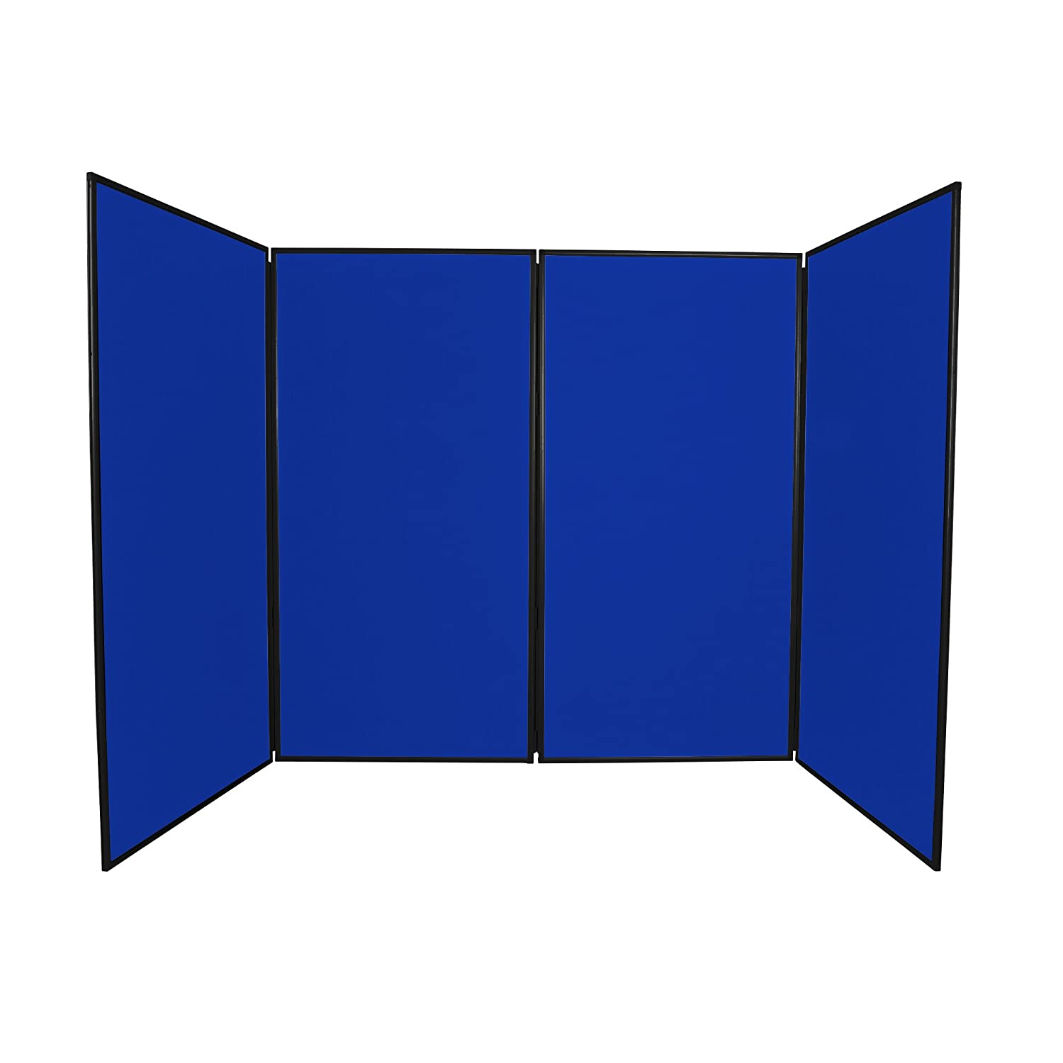 Panelwarehouse Jumbo Display Board Stand, Black Frame (Black, 2 Panel) - 3 Sizes & 8 Colours