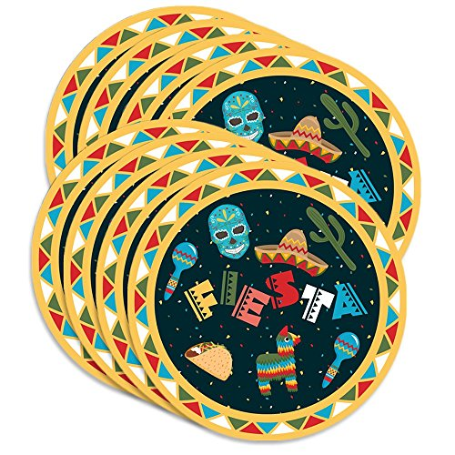 Mexican Fiesta Birthday Party Supplies Large 9