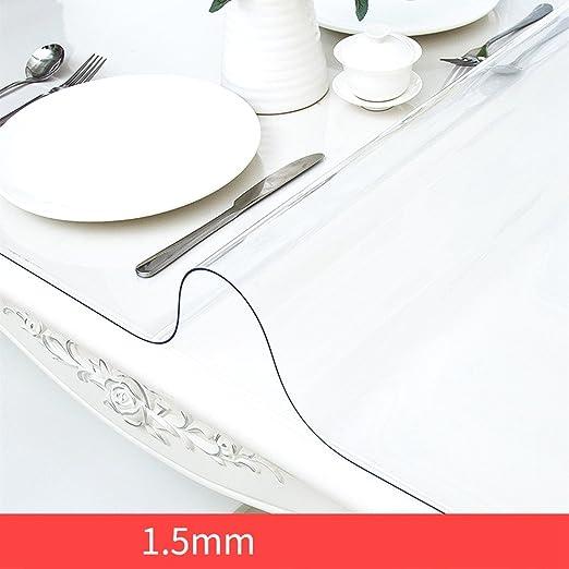 Clothes UK- Protector de Muebles Mantel de PVC Transparente ...