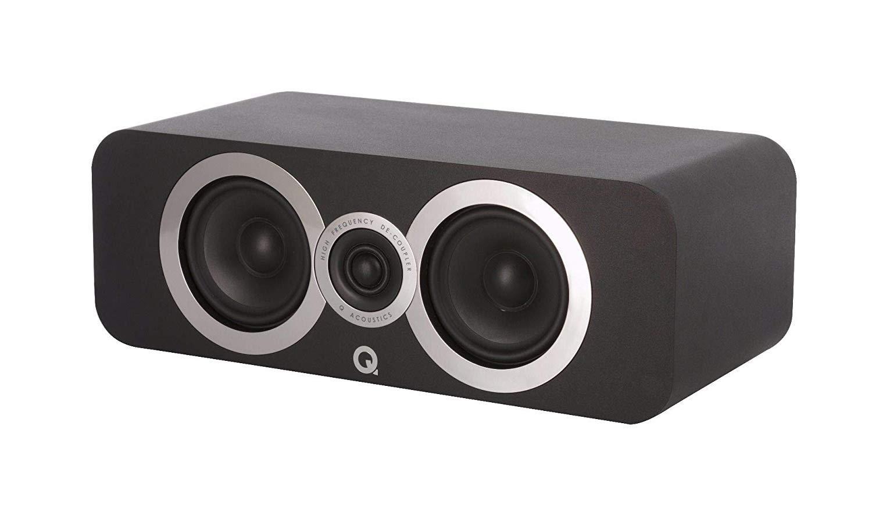 Q Acoustics 3090Ci Center Speaker (Carbon Black) by Q Acoustics