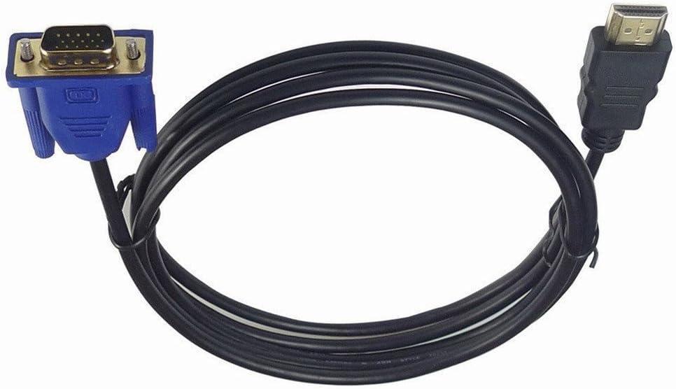 Colorful HDMI-Kabel HDMI Kabel HDMI zu VGA 1080P HD mit Audio Adapter Kabel HDMI zu VGA Kabel,1.8m//3m//5m//10m 10m