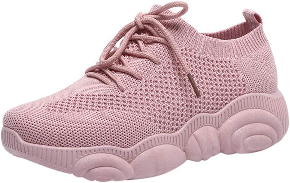 Dreamyth-Shoes Zapatillas de Deporte para Mujer con Suela de Oso de Dibujos Animados: Amazon.es: Deportes y aire libre