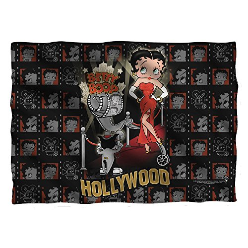 Betty Boop 1930's Animated Character Icon Hollywood Premiere Pillow Case